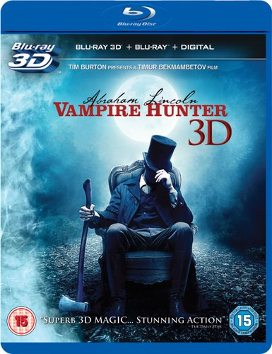 Abraham Lincoln: Vampire Hunter 2012 BRRip Daul Audio Hindi Dubbed 300MB