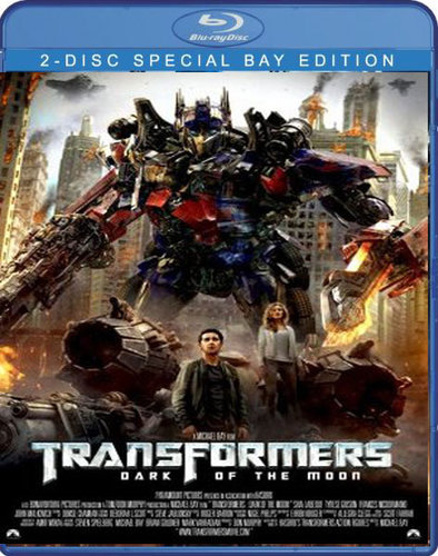 Transformers: Dark of the Moon 2011 Dual Audio Hindi Eng BRRip 400Mb ESub