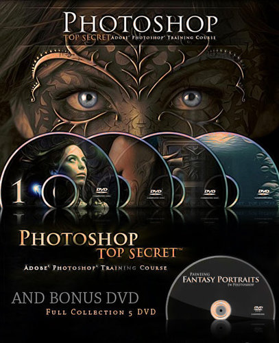 Photoshop Top Secret [Curso Completo] Collection (5 DVD)