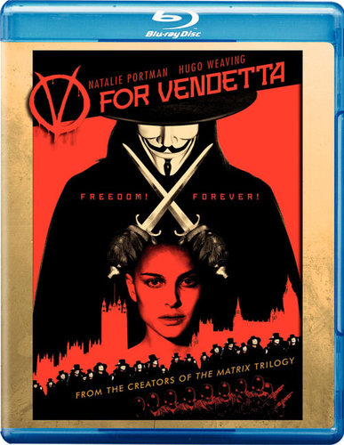 V For Vendetta (2005) BRRip Dual Audio Hindi Dubbed 350MB