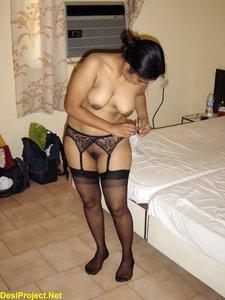 Sarita Powar In a Hotel Room