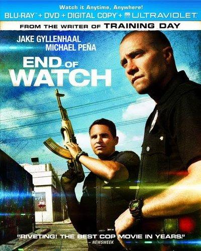 End of Watch 2012 Hindi Dubbed Dual BRRip 300mb ESub