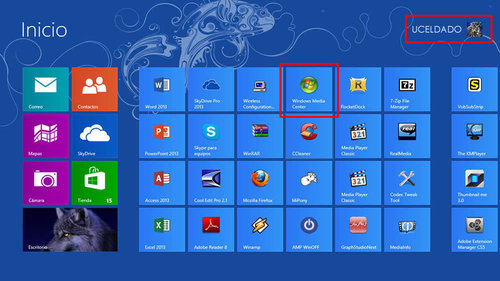 Windows 8 pro with media center build 9200