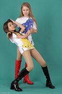 Silver-Stars – Hanna+Mariyam – ABBA 1 | phosed
