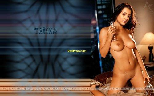 Trisha Krishnan Nude Sexy Pictures